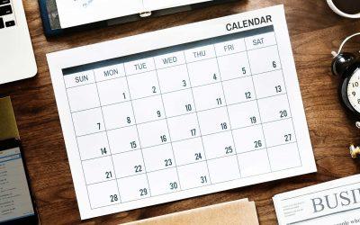 Mission Calendar