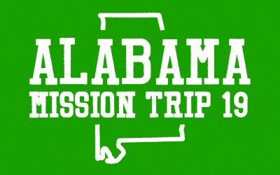 Alabama Mission Trip
